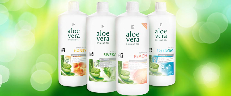 lr aloe vera drinking gels food packaging design. Black Bedroom Furniture Sets. Home Design Ideas