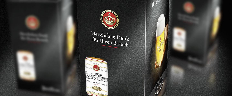 Koenig Pilsener - Getränke - Packaging Design - justblue.design